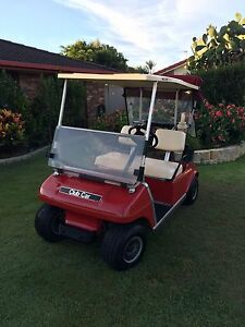 Golf cart electric  -  Red DS Club Car Runaway Bay Gold Coast North Preview