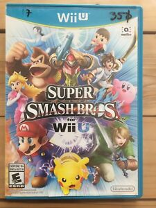 Super smash bros wii u