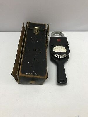 Vintage General Electric Ac Clamp Voltammeter Model 8ak1aaa1 Type Ak-1