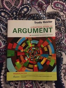 A practical study of argument by trudy govier