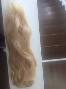 18 inch warm blond BABE hair extensions (4pk)