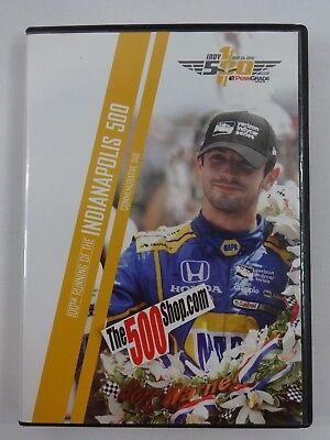 2016 Indianapolis 500 100th Running DVD Alexander Rossi Andretti Herta Autosport