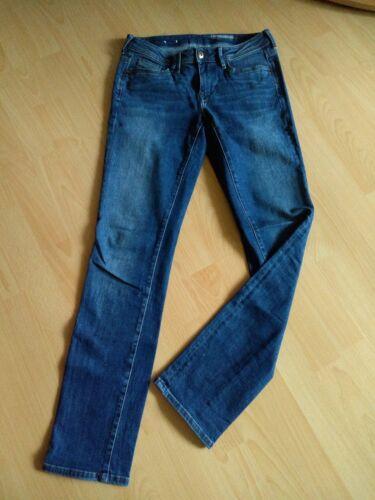 Jeans Hose Stretch Damen EDC Esprit W 27 L 32 Straight Fit