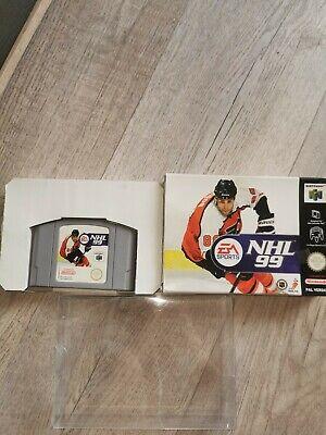 150 weitere Games N64 SNES GAMEBOY hier NHL99 für N64 in OVP und BOXED BLITZVERS