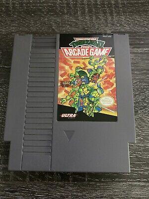 NES TMNT Teenage Mutant Ninja Turtles II 2: The Arcade Game *Authentic/Tested*