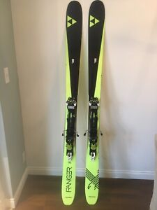 Fischer Ranger 115 XTi skis with alpine touring bindings