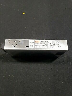 Mean Well Hrp-450-12 Ac Dc Power Supply 37.5a 2f22