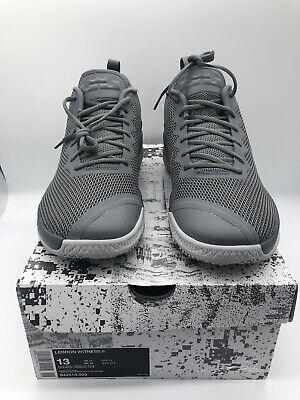 c6f67b1c0dc Nike LEBRON WITNESS II Size 13 Mens Basketball Shoes Cool Grey Gold 942518  009