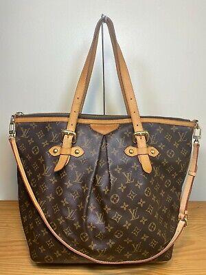 Authentic Louis Vuitton Monogram Palermo GM Shoulder Bag