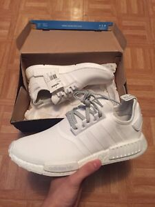Nmd white reflective r1 size 12