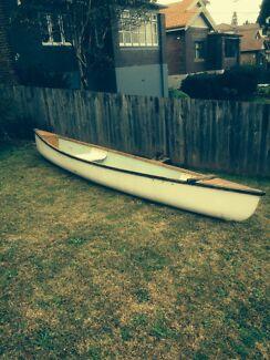 15 ft Fibreglass Canoe West Ryde Ryde Area Preview