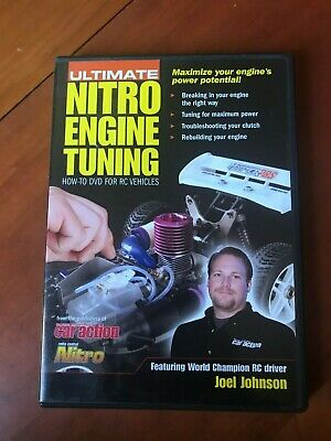 Ultimate Nitro Engine Tuning: How-To DVD For RC Vehicles