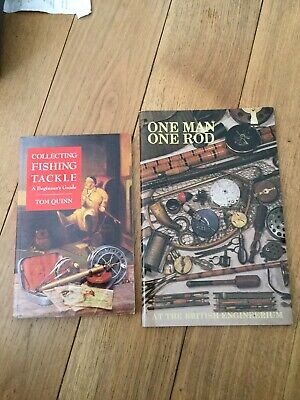 2 VINTAGE FISHING TACKLE COLLECTORS BOOKS.
