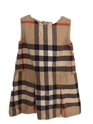 Burberry Authentic Kids Nova Check Dress 5Y