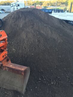 Top soils. Organic composts. White sand. Railway sleepers  Wellington Point Redland Area Preview