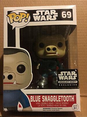 Blue Snaggletooth (69) Funko Pop Vinyl Star Wars Smugglers Bounty exclusive