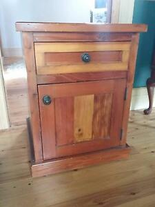 Recycled oregon bedside table x 2 Wentworth Falls Blue Mountains Preview