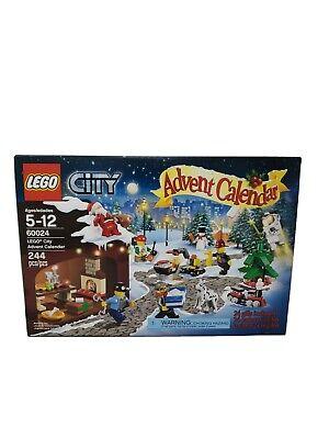 60024 LEGO CITY 2013 ADVENT CALENDAR MIB SEALED DISCONTINUED NEW SANTA MOLD