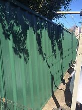 COLOURBOND FENCING 32 INTACT PANELS & GATES Hobartville Hawkesbury Area Preview