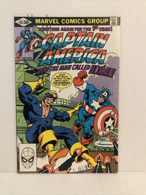 Captain America #261