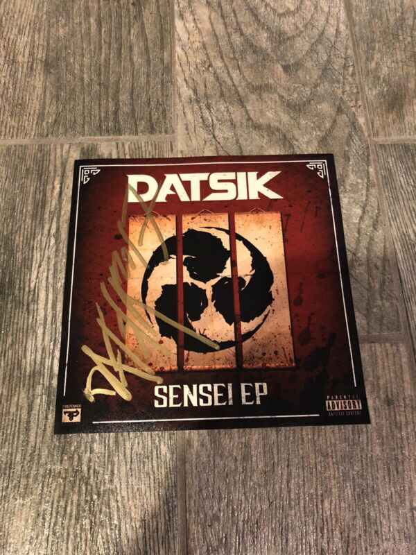 DATSIK SIGNED 8X8 PHOTO COA LEGEND RARE! AUTOGRAPHED ELECTRONIC DJ SENSEI EP