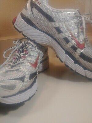 Men's sz 9.5  Nike Red Air Pegasus + Bowerman Series Athletic Running Preowned👌