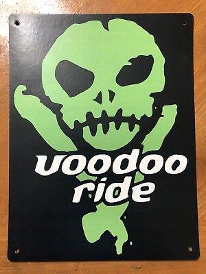 Tin Sign Vintage Voodoo Ride