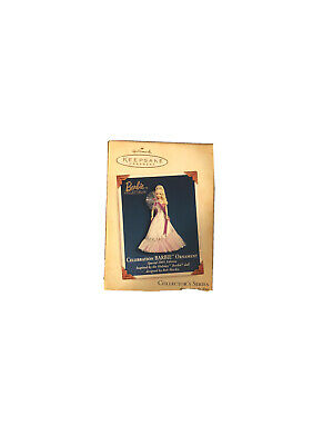 Hallmark 2005 Celebration Barbie Keepsake Ornament New in Box FREE SHIPPING