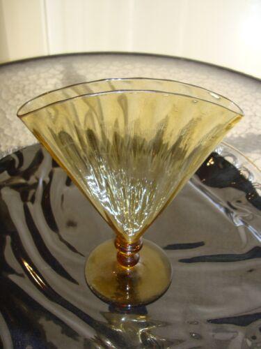 Steuben Fan Vase Signed