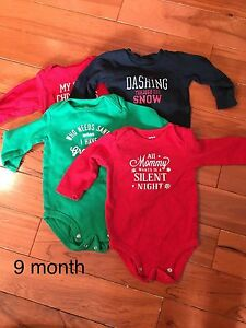 Christmas diaper shirts