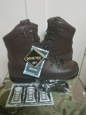 British Army MTP Full Leather ITURRI Cold Wet Weather Goretex Combat Boots 9 M