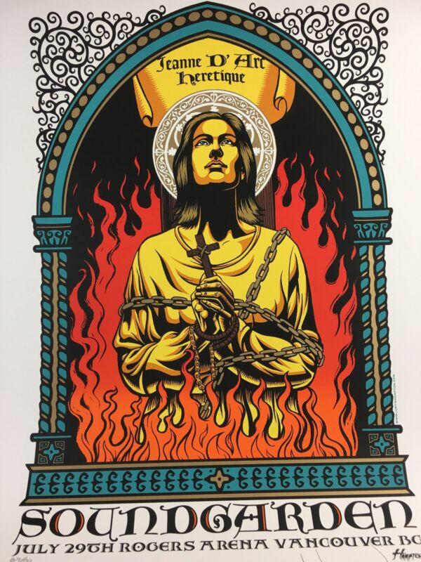 Soundgarden - 2011 Justin Hampton Poster Vancouver Artist Edition