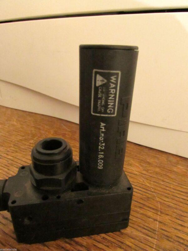 Piab Pneumatic Vacuum Generator Pump L20 Silencer Quick Connects