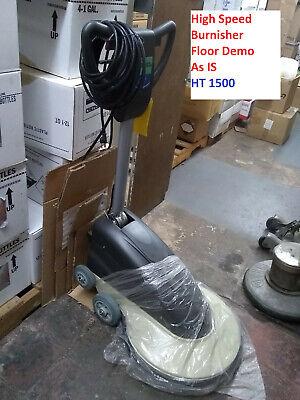 Industrial Floor Machine Burnisher Ht1500 Floor Demo As Is