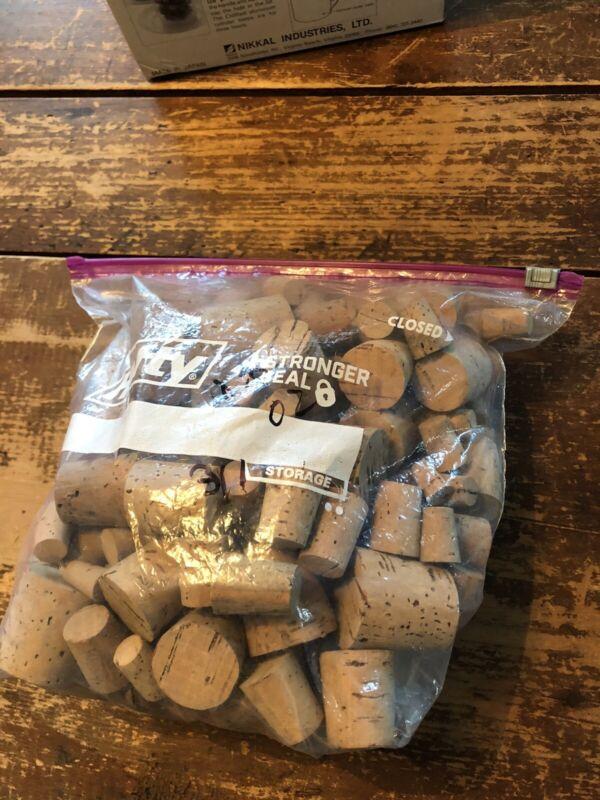 Used Corks Lot of 311 Corks - Crafts