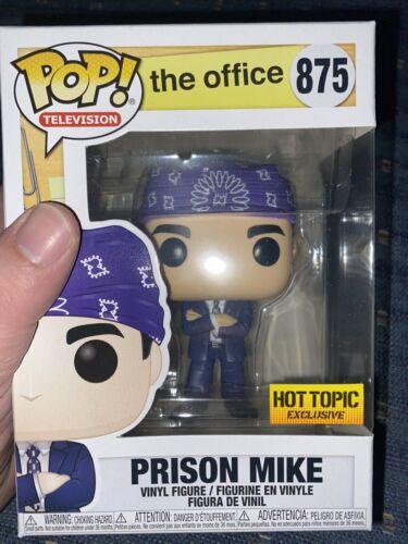 Funko Pop Prison Mike Michael Scott The Office Hot Topic Exclusive - $8.00