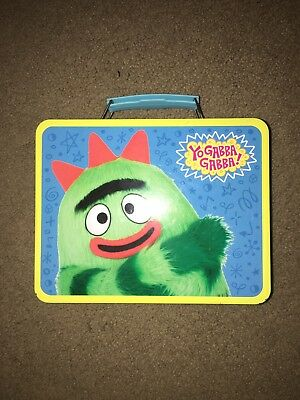 Yo Gabba Gabba Lunch Box (METAL LUNCHBOX YO GABBA GABBA Used Lunch Pale Brobee Muno DJ)