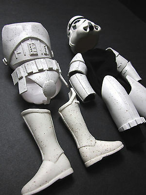 """1/6 Star Wars Stormtrooper Kenner Armor outfit Set - 12"""" Darth Vader Trooper  for sale  Shipping to Ireland"""