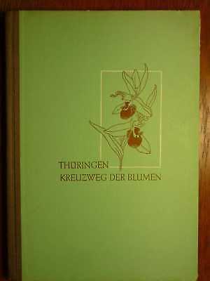 WILDPFLANZEN - Thüringen - Kreuzweg der Blumen - Pflanzengeographie (1952) (Kreuzweg Film)