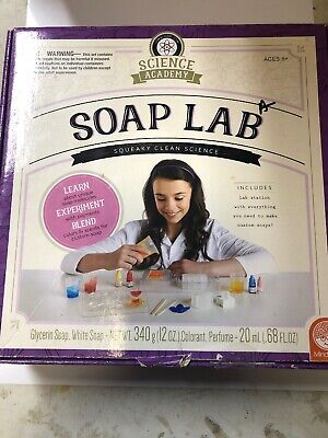 Science Academy Soap Lab by MindWare New 8+