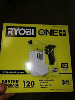 Ryobi 18v One Cordless Handheld Sprayer Tool Only Nib