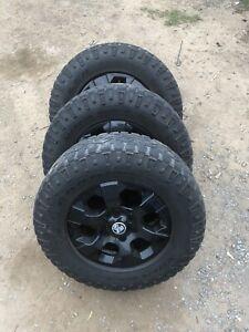 """4x colorado 17"""" wheels"""