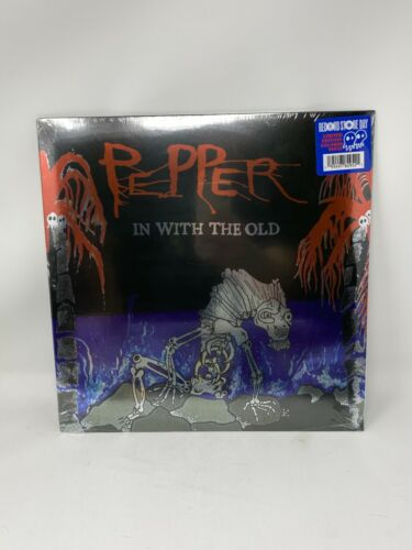 PEPPER - IN WITH THE OLD LP VINYL RECORD STORE DAY RSD 2021 COLORED