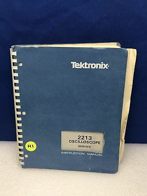 Tektronix 2213 Oscilloscope Service Manual Wschematics