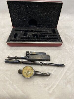 Starrett No. 711-f Last Word Dial Test Indicator With Case Box