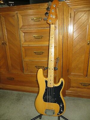 1977 Fender Precision Bass Guitar