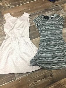 Dresses size 4. $8 for both!!!  Cute.