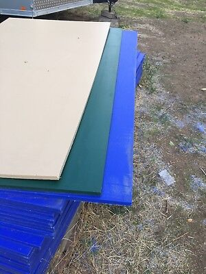 Hdpe High Desity Polymer Plastic Sheets 34 X 48 X 96 Green Blue Beige Sq Ft