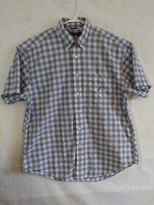 Men's Casual Nautica Shirt, Size L, Button Down, EUC