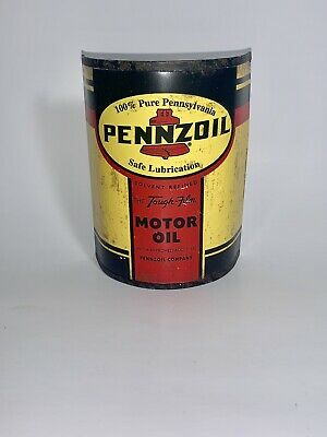 PENNZOIL OIL CAN TIN WALL SIGN HOME DECOR,GARAGE VINTAGE LOOK MANCAVE DECO